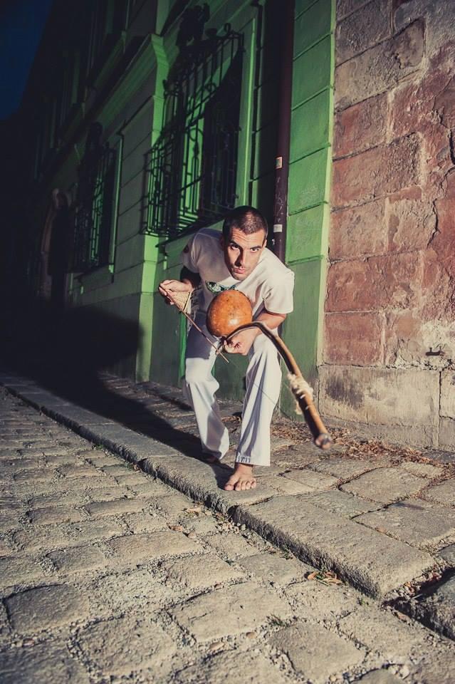 Martin Fogo Halász - capoeira